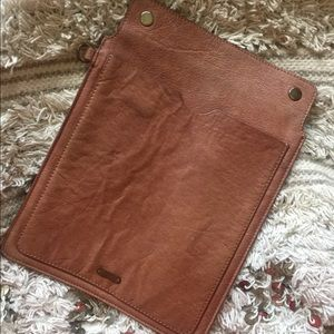 Free People Leather iPad Case